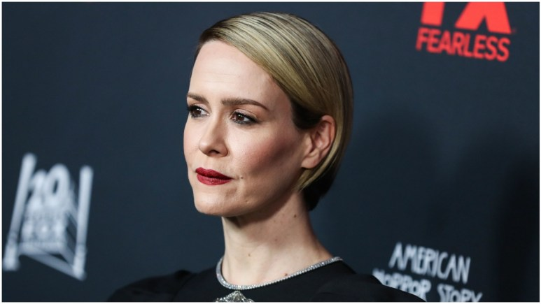 Sarah Paulson: American Crime Story: Impeachment has begun principle photography