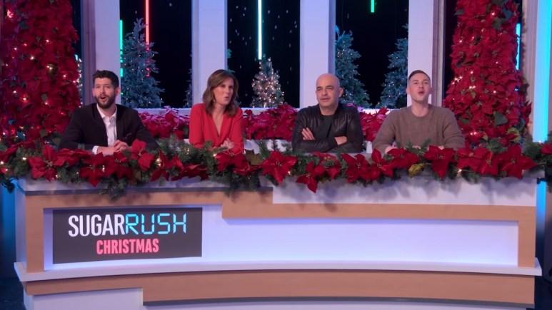 sugar rush christmas 2 guest judges include adam rippon