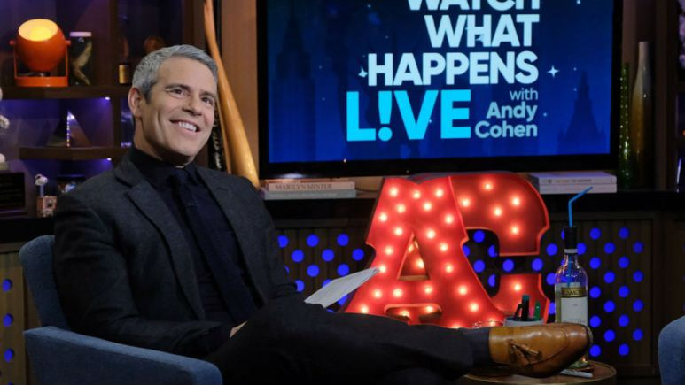 Andy Cohen and his future at Bravo in question.