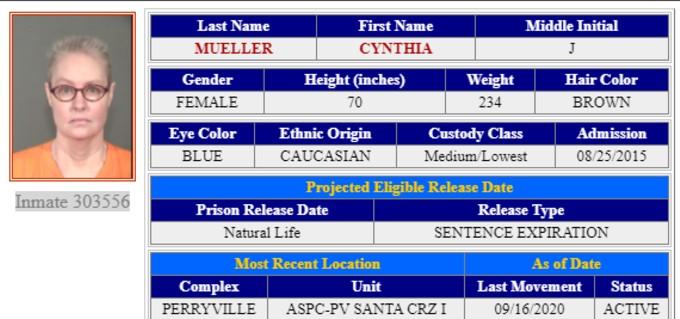 Mueller incarceration details