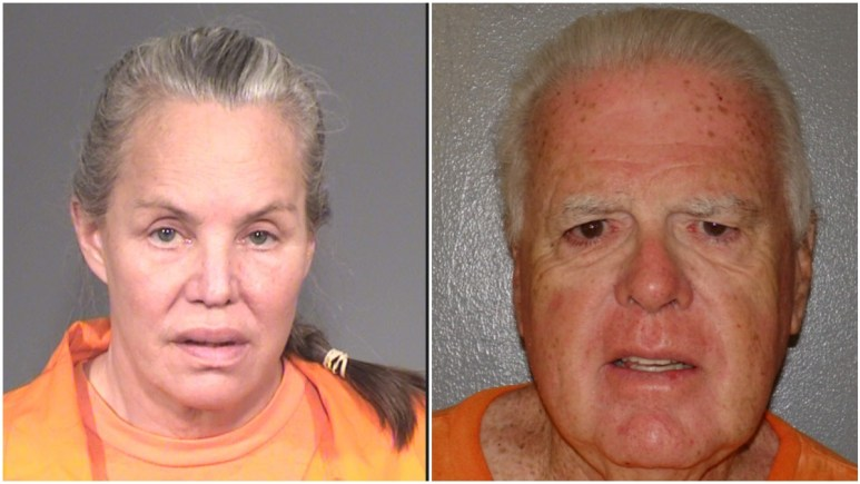 Mugshots of Pam Phillips and Ronald Young
