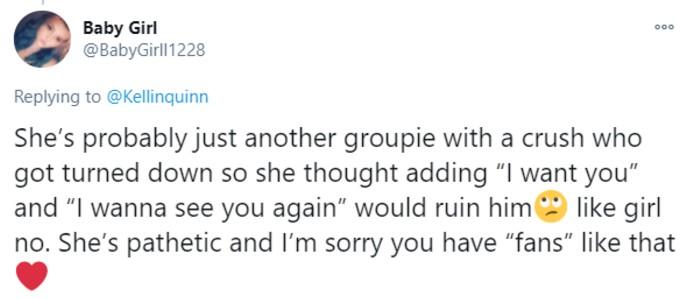 Quinn fan says TikToker is pathetic