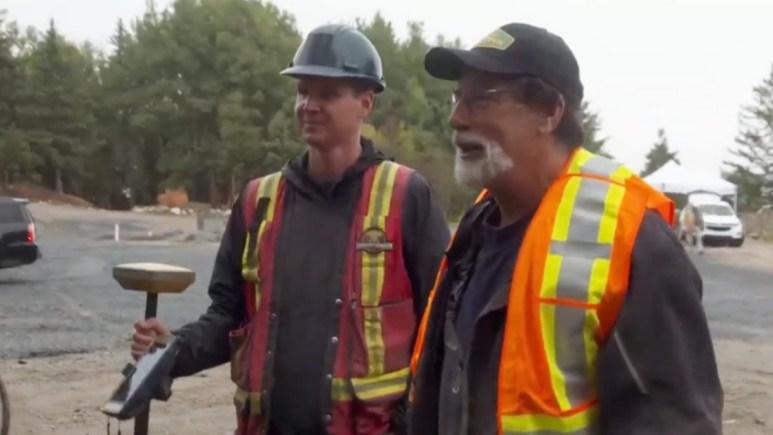 Rick Lagina and Steve Guptill on Oak Island