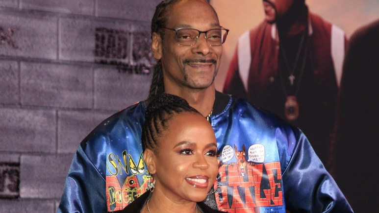 Snoop Dogg and wife Shante