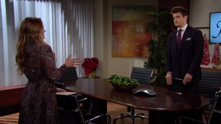 The Young and the Restless spoilers tease Summer warns Kyle and Sally wants his job.
