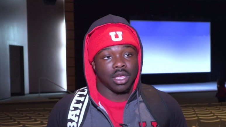 Utah football running back Ty Jordan