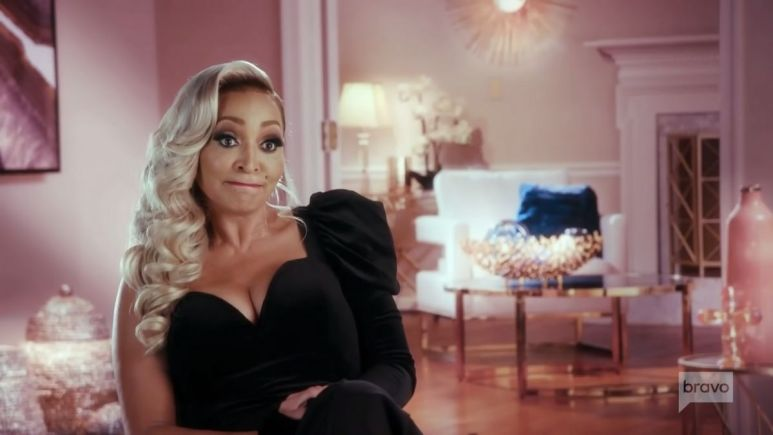 Karen Huger shows prove that she did not lie about cancelled flight on RHOP