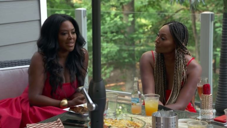 Kenya Moore takes Cynthia Bailey to task about wanting to have a large wedding for Bravo cameras