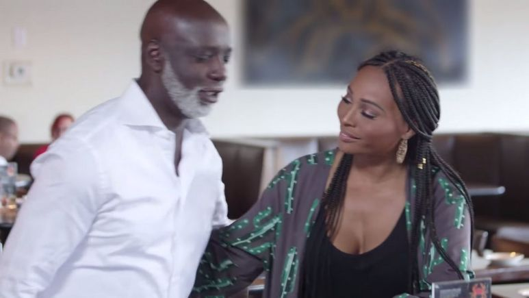 Cynthia Bailey's ex-husband Peter Thomas says he was hurt by her lawsuit