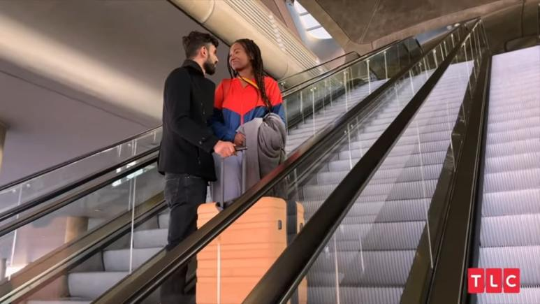 90 Day Fiance: The Other Way couple Brittany Banks and Yazan Abo Horira.