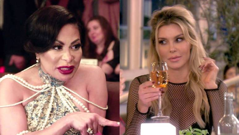 Jen Shah films for RHOSLC while Brandi Glanville films for RHOBH.