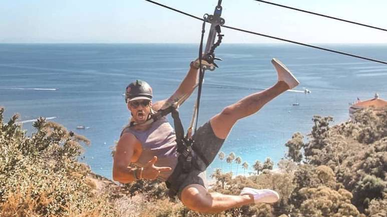 johnny bananas escapes to catalina-island-new-show-replies to fan about the challenge return