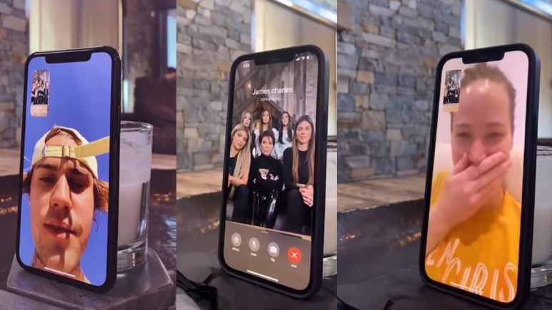 kardashians cure pandemic boredom by pranking friends in viral videos