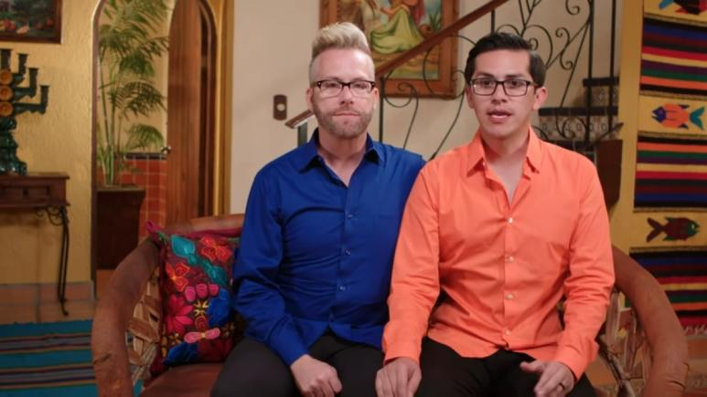 90 Day Fiance: The Other Way couple Kenny and Armando.