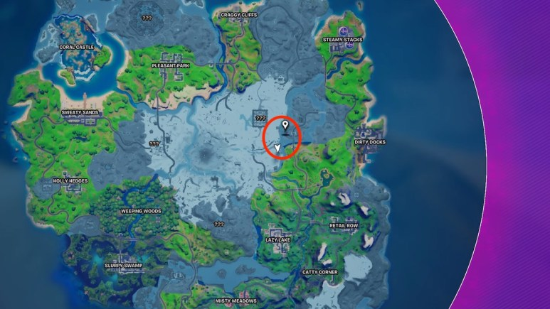 mandalorian fortnite season 5 map
