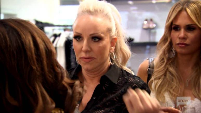 Margaret Josephs has a fight with Danielle Staub while filming for RHONJ.