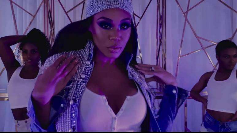 Monique Samuels performs her single Drag Queens as HaZel.