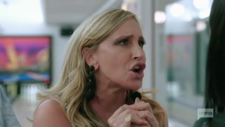 Sonja Morgan argues with Elyse Slain in Season 12