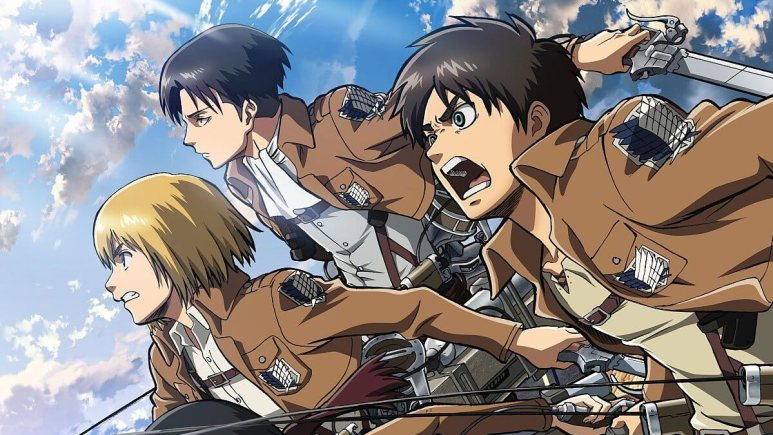 Image from an episode of Attack on Titan