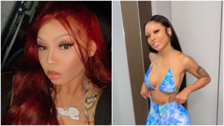 Cuban Doll and Kayla B pose on social media