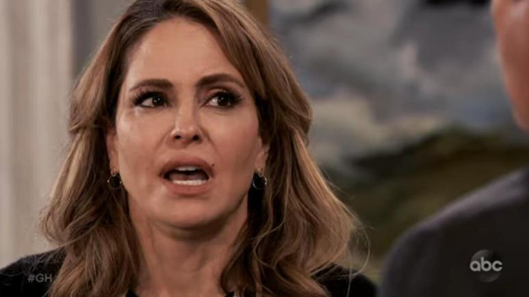 Lisa LoCicero as Olivia on General Hospital.