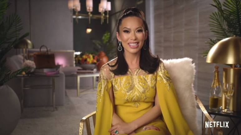 Bling Empire star Christine Chiu is hoping that her in-laws won't tune in to the show