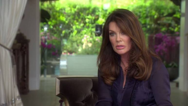 Former Beverly Hills Housewife Lisa Vanderpump reveals her turmoil during Season 9 of the show