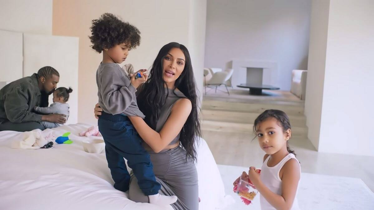 Kim Kardashian Concerned For Kids Well-Being As Kanye West Divorce Imminent