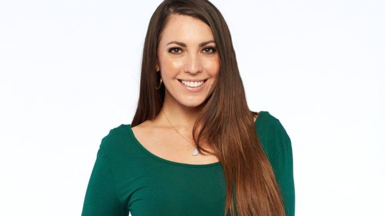 Victoria Larson on The Bachelor