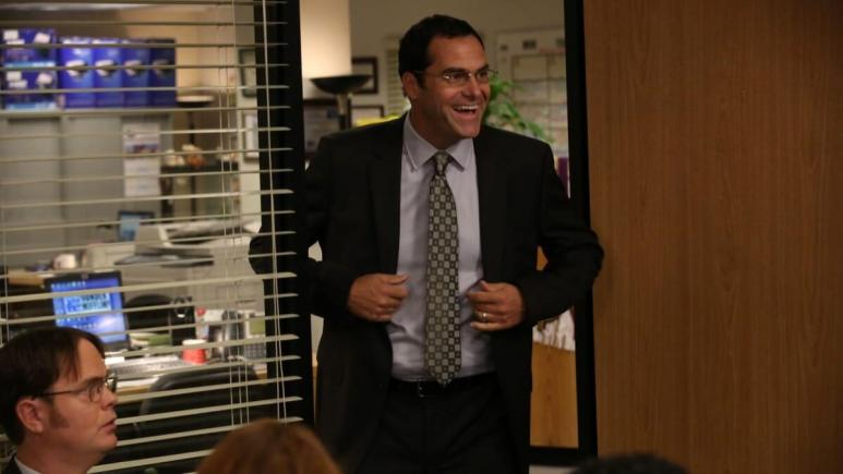 Andy Buckley from The Office.