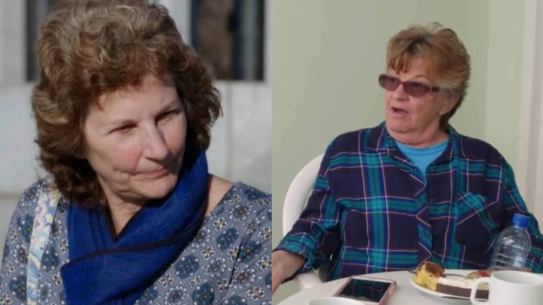 Betty Gibbs and Debbie Johnson film for 90 Day Fiance.