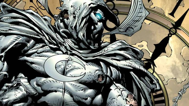 Ethan Hawke in Moon Knight comics.