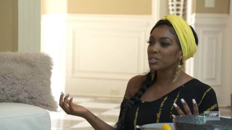 Porsha Williams opens up to her mother and sister while filming for RHOA.
