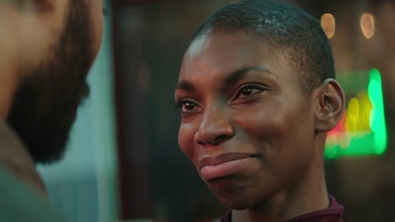 Michaela Coel in the musical Been So Long.