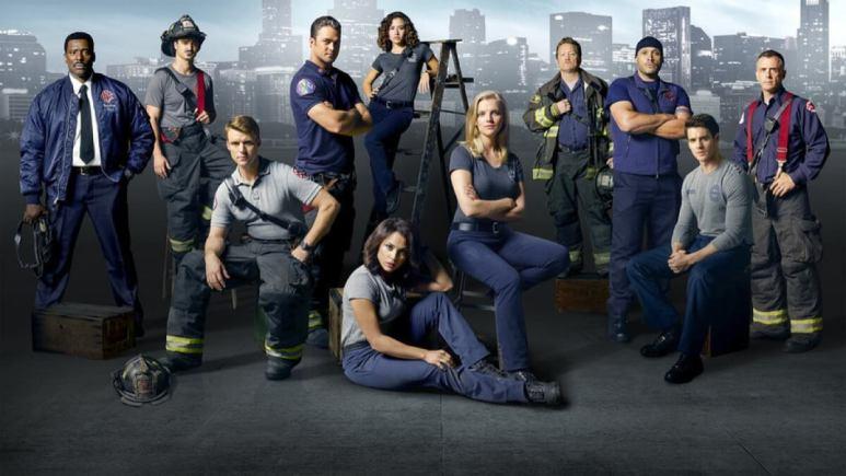 Chicago Fire Cast Photo