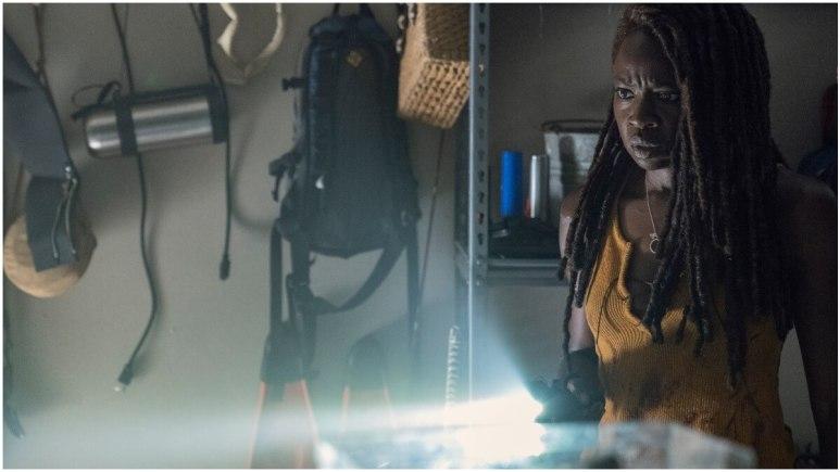 Danai Gurira stars as Michonne in AMC's The Walking Dead