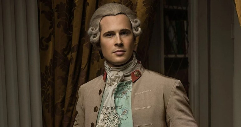 David Berry stars as John Grey in Starz's Outlander