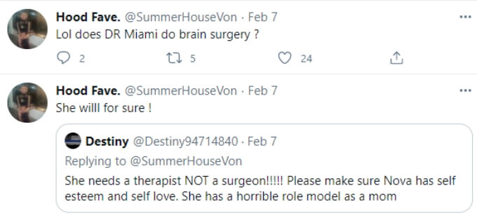 Devoin throws shade at Briana for having more plastic surgery