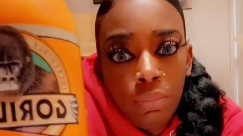 Tessica Brown, aka Gorilla Glue Girl