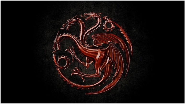 Key artwork for HBO's Game of Thrones spinoff series, House of the Dragon.