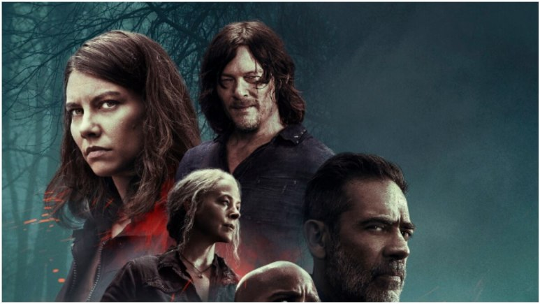 Key artwork for Season 10C The Walking Dead
