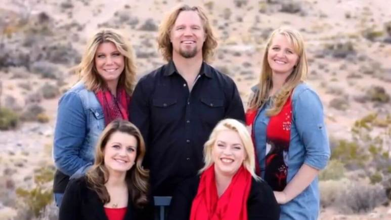 Kody Brown and his wives on Sister Wives