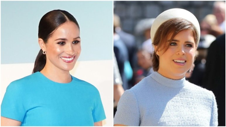 Meghan Markle and Princess Eugenie attending royal events