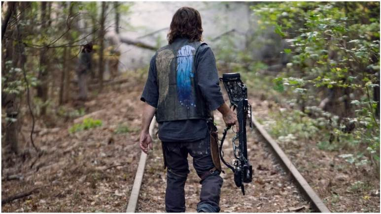 Norman Reedus stars as Daryl Dixon, as seen in Season 10C of AMC's The Walking Dead