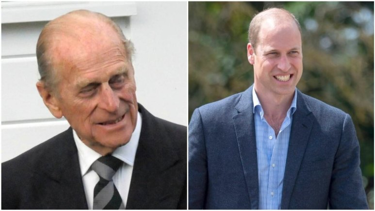 Prince Philip and Prince William attends royal events