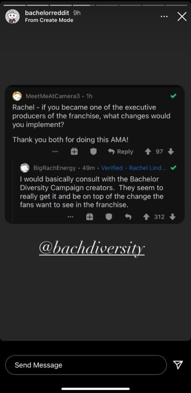Rachel diversity