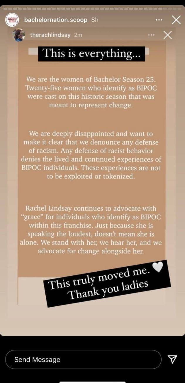 Rachel reacts to BN statement