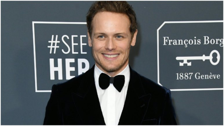 Sam Heughan. 25th Annual Critici's Choice Awards - Arrivals held at Barker Hangar