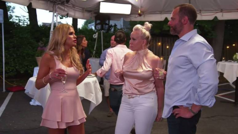 RHONJ star Jackie Goldschneider thinks Teresa Giudice came to the party to start trouble