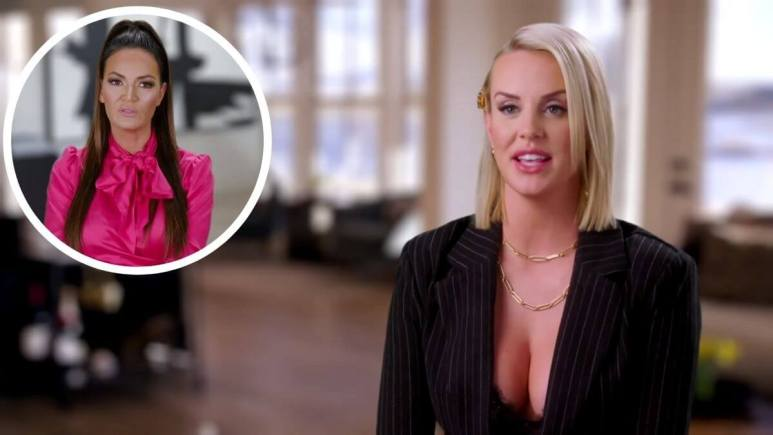 RHOSLC star Whitney Rose   blasts castmate Lisa Barlow and calls her a liar.